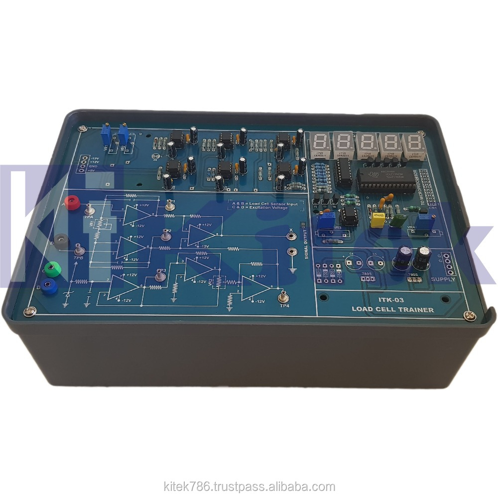 Load Cell Trainer Kit Strain Guage Instrumentation Digital Multimeter Schematic Free Electronic Circuits 8085 View Kitek Product Details From Technologies