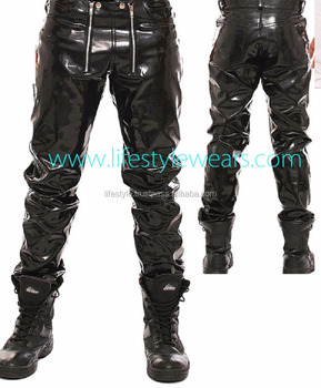 Fetish men leather boots apologise