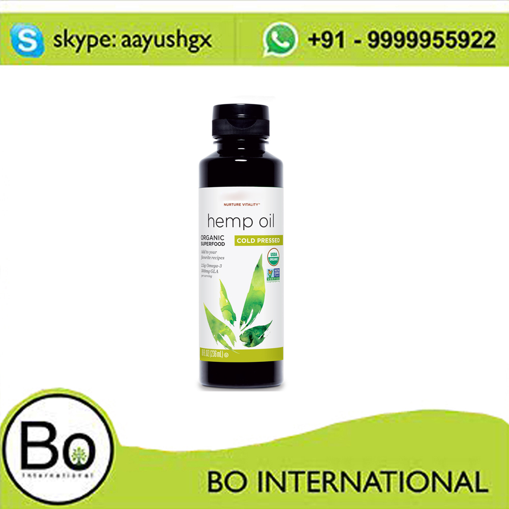 Hemp Seed Oil (OEM / ODM ) / 100% Natural pure Hemp Seed Oil for Sale