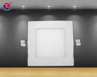 Recessed LED Panel lights 4W led slim downlight Square
