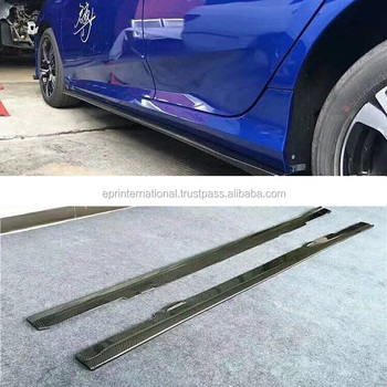 For Honda 10th Generation Civic FC SA-Style Side Skirt Extension