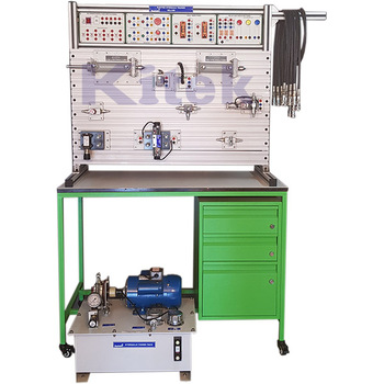 ELECTRO HYDRAULIC TRAINER / Mechatronics Lab / Didactic Trainer Equipment Vocational Training Equipment
