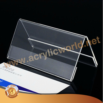 New design Plastic acrylic V shape menu holders/table tent stand & New Design Plastic Acrylic V Shape Menu Holders/table Tent Stand ...