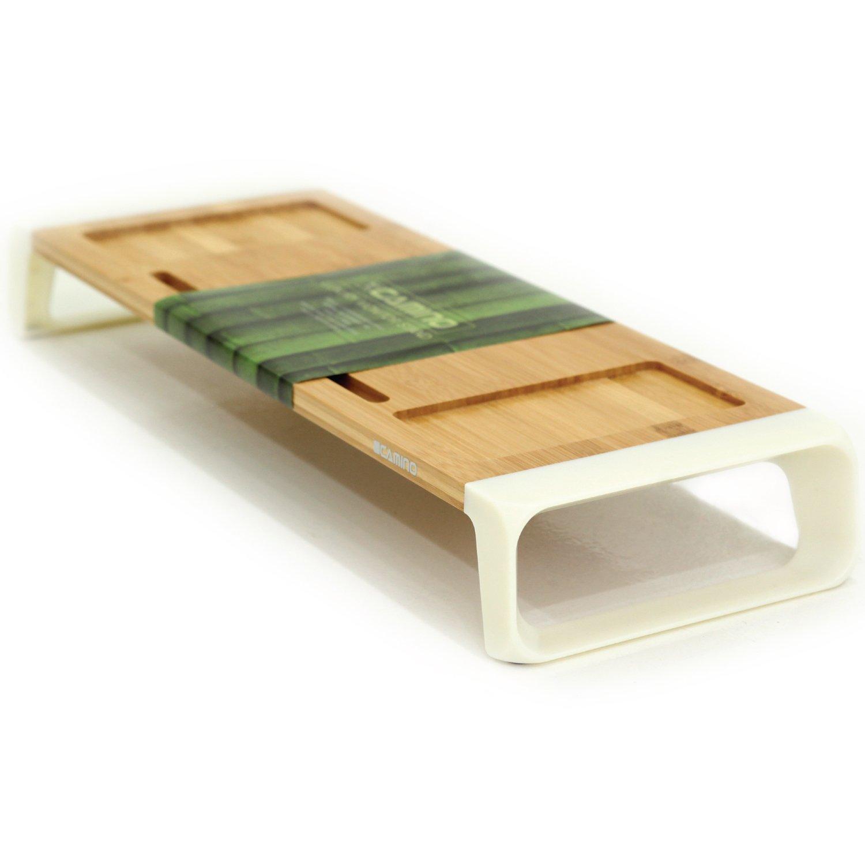 CAMINO MONITOR STANDS M01   Eco-friendly Bamboo sturdy Board   Modern Design