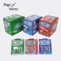 Professional Factory Sugar Free Listerine Fresh Paper Mint Breath Strips with 0 Calories