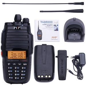 TYT TH-UV8000D High Power 10Watts Walkie Talkie Cross Band Repeater THUV8000D Amateur Radio 10KM Ham Two Way Radio Communicator