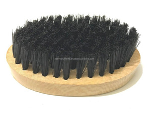 Chinar wood artificial boar bristle beard hair brush