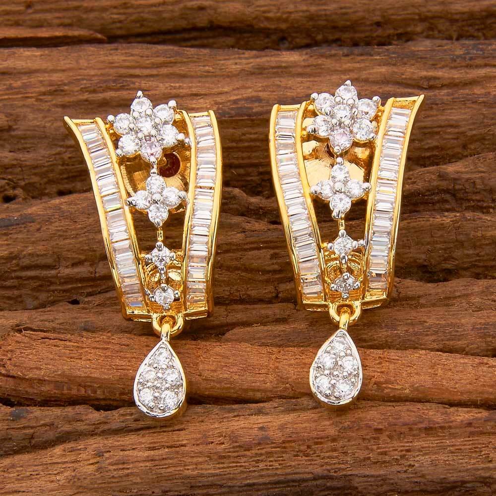 Cz 2 Tone Plated handmade bali in wholesale 58527 White