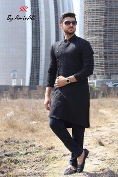 Mens Wedding Attire.Indo Kurta Aligad Mens Black Wedding Dress Buy Cheap Wedding Dress Islamic Wedding Dress Exotic Wedding Dresses Product On Alibaba Com