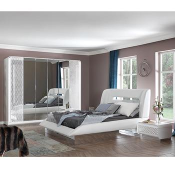 Beyond Dark Blue Gold / White Silver Modern Bedroom Furniture Set - Buy  Bedroom Furniture,Italian Bedroom Set,Luxury Bedroom Set Product on ...