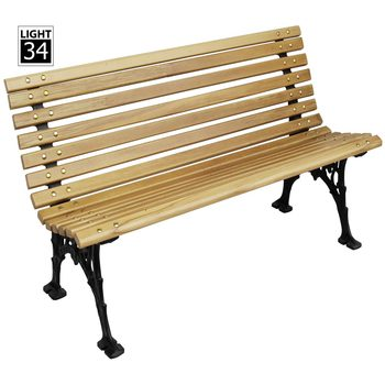 Outstanding Wooden Slats Cast Aluminum Garden Bench Furniture Outdoor Metal Urban Street Bench Buy Street Bench Garden Bench Furniture Outdoor Product On Creativecarmelina Interior Chair Design Creativecarmelinacom