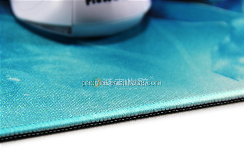 Top Selling Big size rubber computer mouse pad printed logo with hot heat
