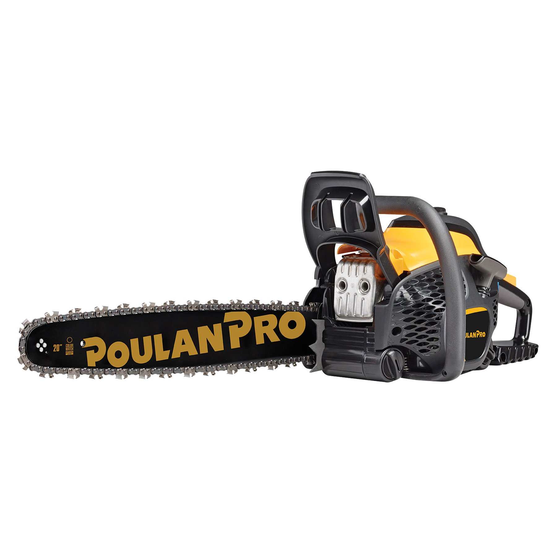 Get Quotations · Poulan Pro PPR5020-BRC 20-Inch 50cc Chainsaw (Certified  Refurbished)