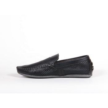 Leather moccasins for men, L187sp