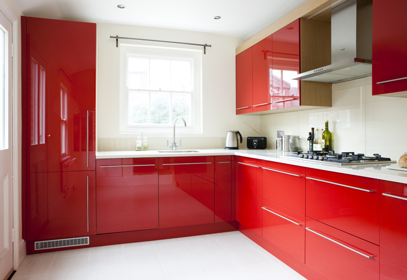 Red Awesome Kitchen 076 854 90 60