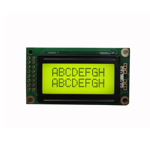 ODM 8x2 character small lcd display screen