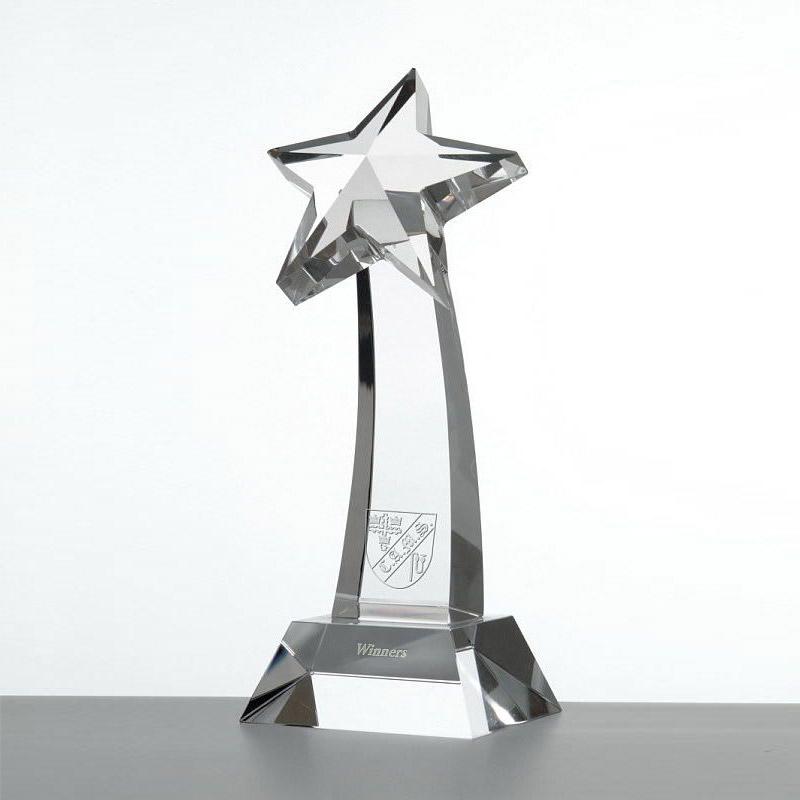 Optical Crystal Awards Shield
