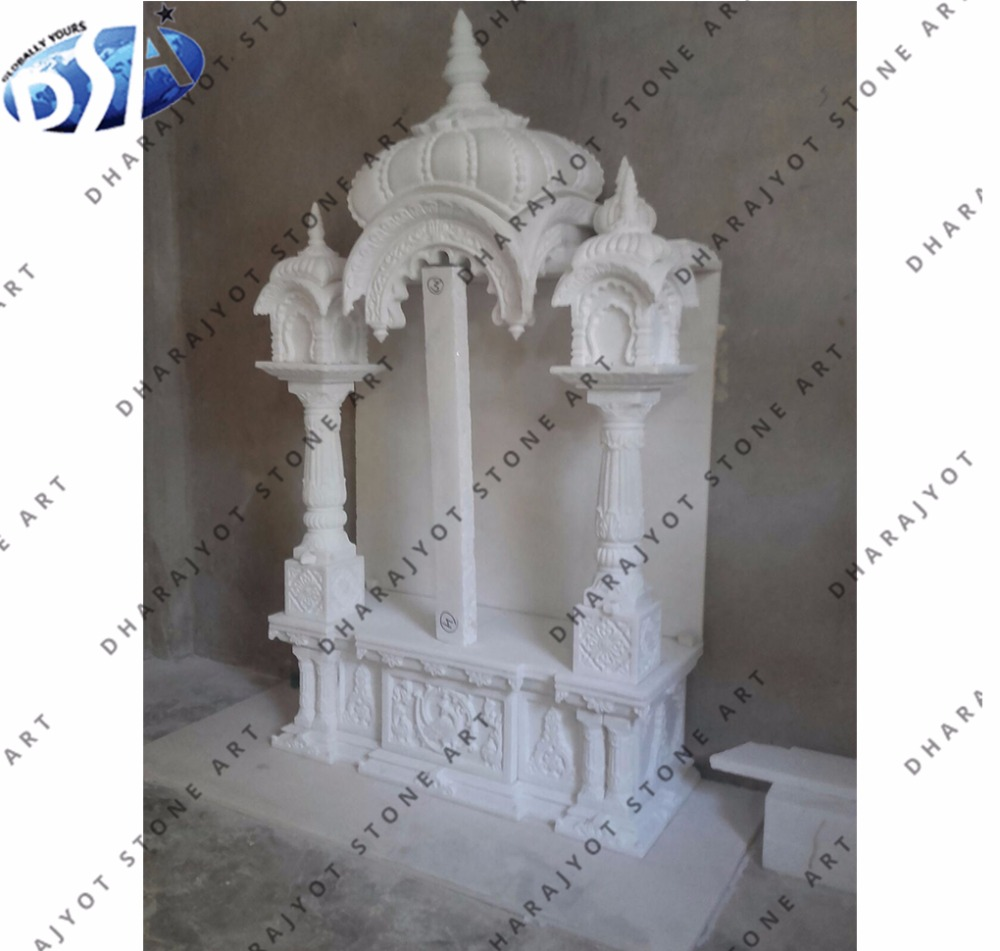 White Marble Indoor Mandir