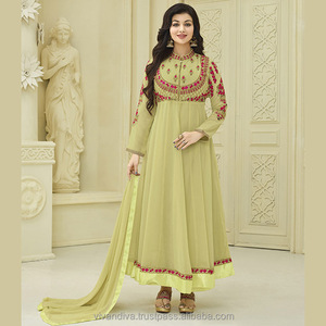 be3eaf6605 Anarkali Style Suits, Anarkali Style Suits Suppliers and Manufacturers at  Alibaba.com