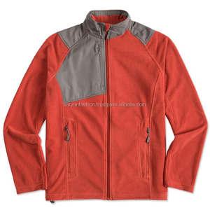 Custom 100% polyester polar fleece jacket