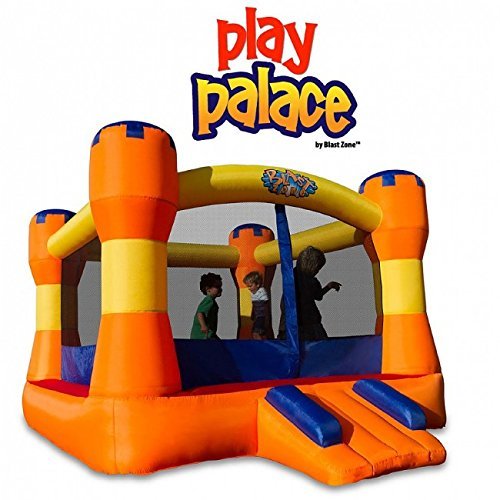 Blast Zone Play Palace Inflatable Bounce House by Blast Zone