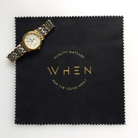 Custom Logo Wholesale Microfiber Watch Cleaning Cloth