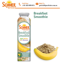 Healthy Breakfast Banana Apple Oats and Cinnamon Smoothie for Sale