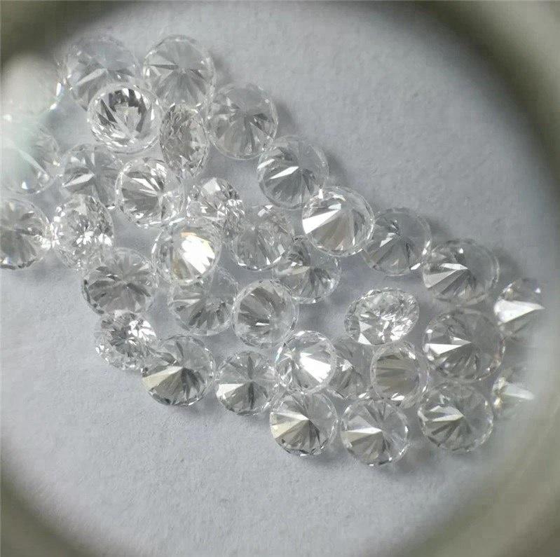 Lab Grown VVS-VS CVD//HPHT Loose Diamond 1.20 mm to 1.25 mm TCW 0.50,D-E-F
