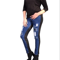 high quality denim jean, jean trousers plus size woman denim jean