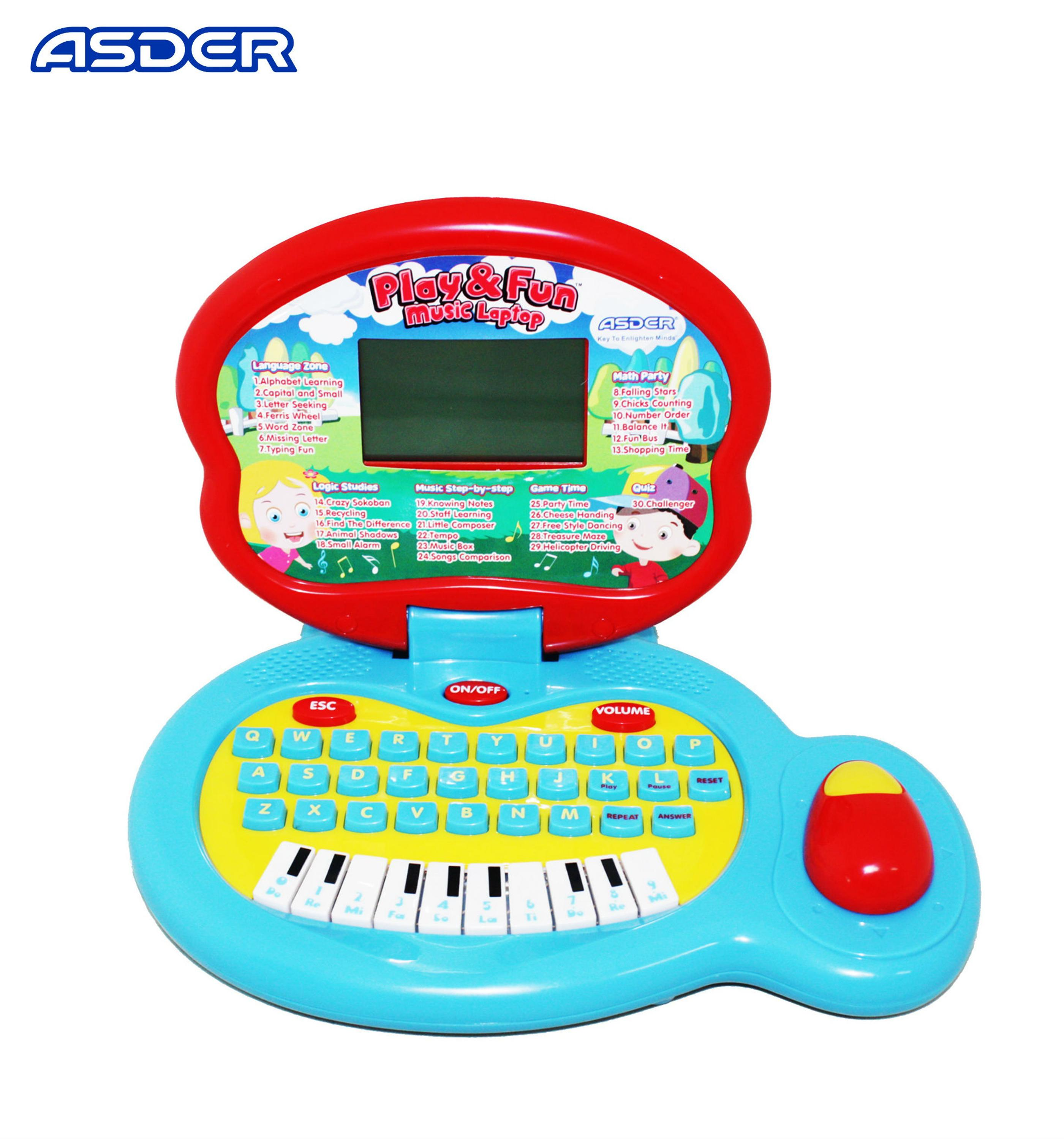 Top Sale Kids Musical Study Learning Laptop Buy Kids Learning