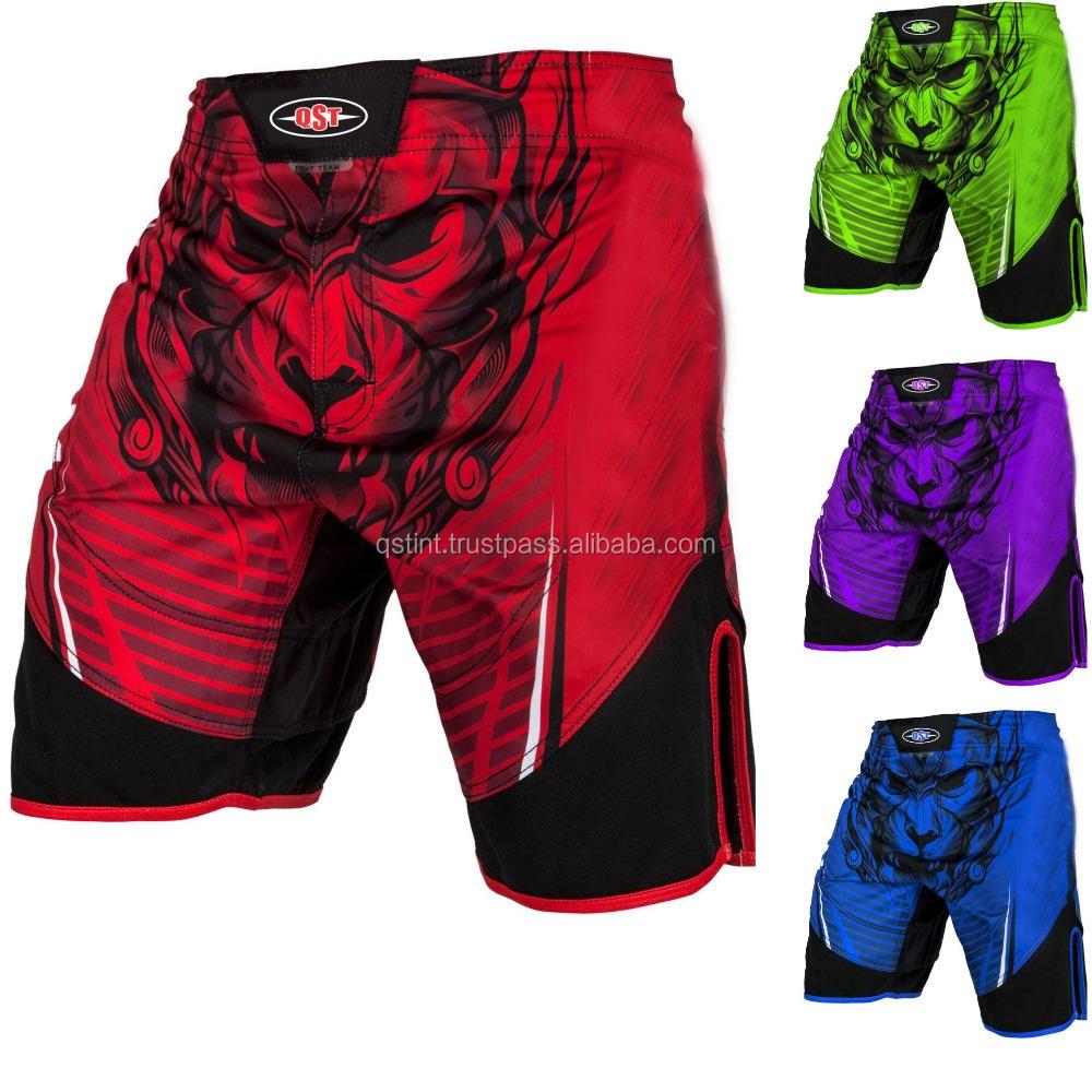 RDX MMA Training Shorts kickboxing Grappling Mens Fighting Cage Gym Wear R12R