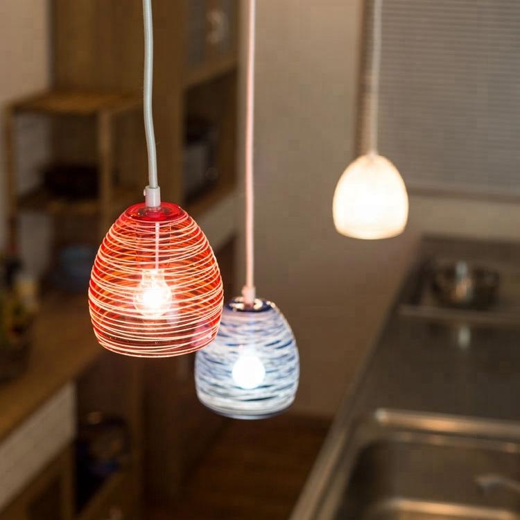 moderne kunst opknoping lamp hittebestendige led verlichting