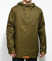 custom design rain jacket anorak overhead men waterproof jacket