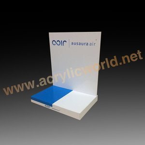 High grade acrylic OEM/ODM removable cosmetic display