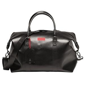 Custom high quality luxury men leather duffel bag
