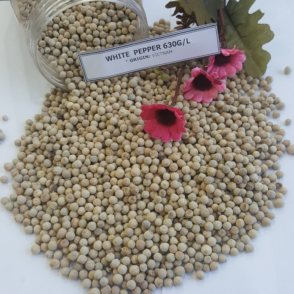 WHITE PEPPER DOUBLE WASHED, VIETNAM SPICES