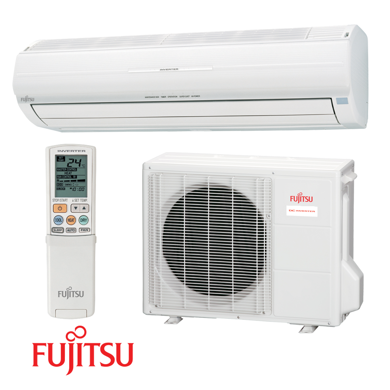 Inverter Air conditioner Fujitsu Nocria AWYZ14LB / A0YZ14LBC with A/A energy class of cooling/heating