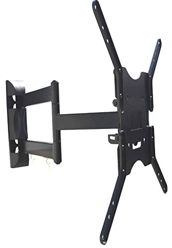 """Super Slim Steel Articulating LED Wall Mount with 24"""" extension for 32"""",40"""", 49"""", 55"""" LED TV"""