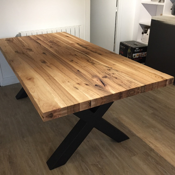 Modern - Rustic Old Oak Table - Buy Antique Oak Rectangle Dining Table  Product on Alibaba.com
