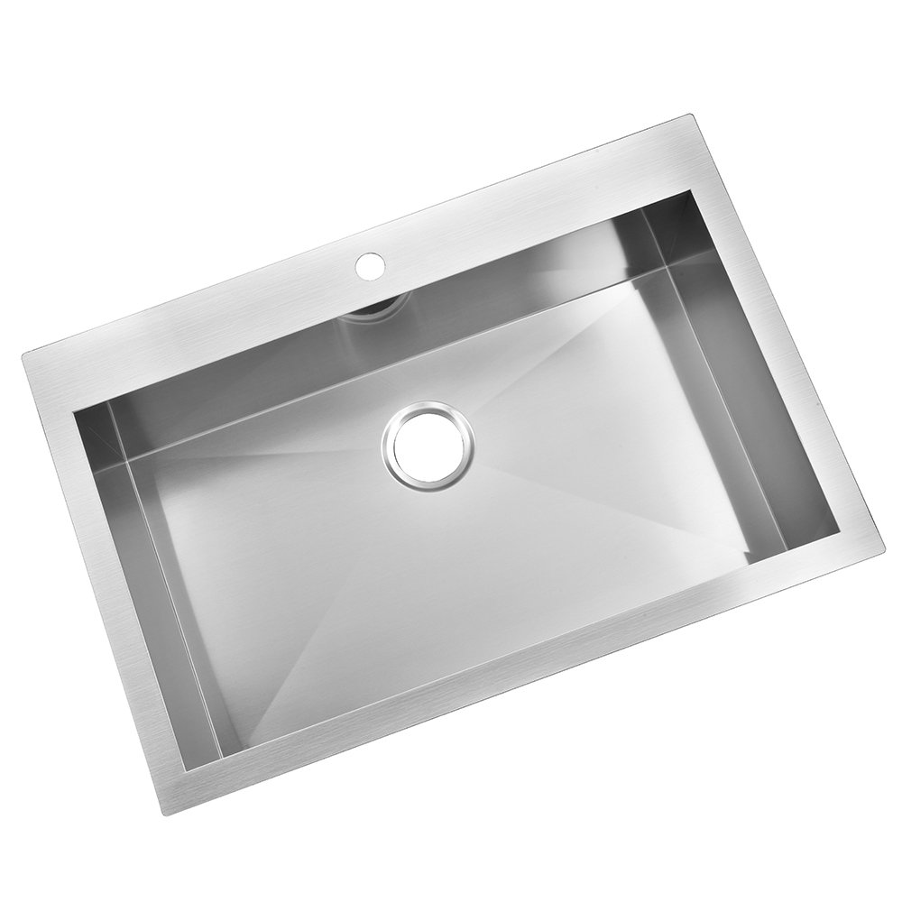 Chrome Plated Finish LASCO 03-1055 Long Post Kitchen Sink Basket That Fits All Standard Sinks Opening