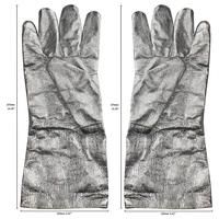 Aluminized Safety Melting Furnace Refining Gloves