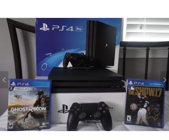 Wholesale For Play station 4 PRO/Slim PS4 1TB Console,10 GAMES & 2 Controllers-Freeshipping-Original-New