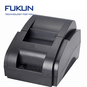 lowest price label adhesive sticker 58mm thermal printer from Shanghai Fukun