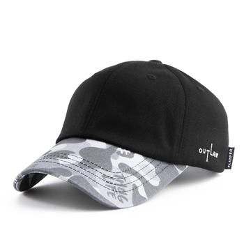 e15a00af80e  FL420  THUG Military Black printed camo design baseball cap  high quality  dad hat