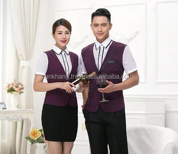 Fashion Uniform Designs For Hotel Staff