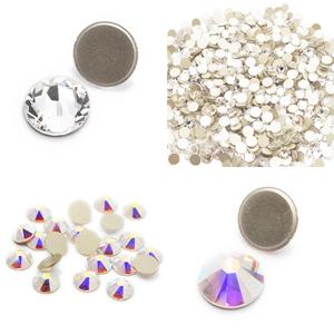 Swarovski Elements AB / Crystal Clear Iron On / No-Hotfix Rhinestone