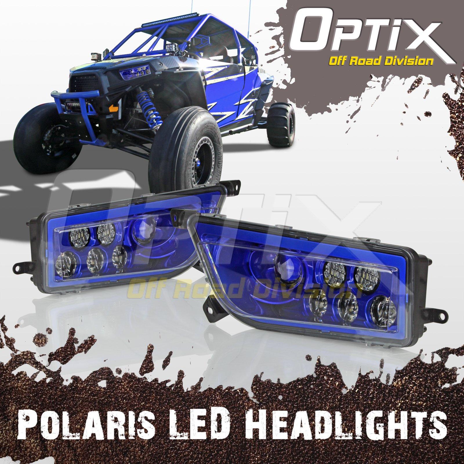 Genuine Polaris Part Number 2410503 ASM-HEADLIGHT for Polaris ATV Motorcycle Snowmobile// or Watercraft