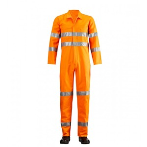 Disposable Safety Work Coverall 40gsm Protective Clothing