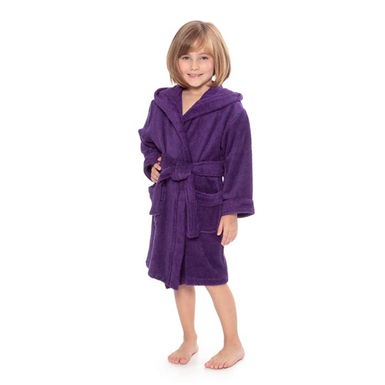 Mother & Kids New Style Children Towel Boys Girls Unisex Cut Pile Bath Towel Cloak Kids Towel Blanket Child Cotton Bathrobe 3y-8y