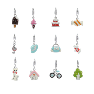9aeb3b7bb2 925 Sterling silver enamel charms for bracelet 925 silver enamel pendant  children jewellery
